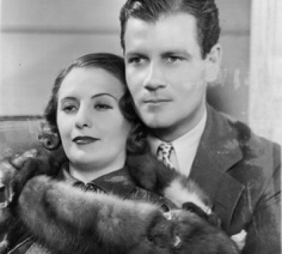 As 'Lady Lee' with Joel McCrae 'Gary Madison' in Gambling Lady,1934, directed by Archie Mayo. Mayo had directed many silent pictures. Daryl Zanuck thought him one of the best titlers in the business. He had directed such actresses in silents as Belle Bennett, Pauline Frederick, Betty Bronson, Dolores Costello, Irene Rich and Myrna Loy. From A LIFE OF BARBARA STANWYCK Steel-True 1907-1940