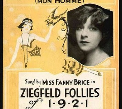 Fanny Brice, sister of Lew; sister-in-law of Lew's wife, Mae Clarke.