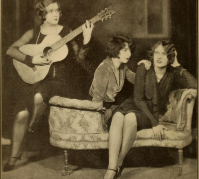 With Mae Clarke and Walda Mansfield.